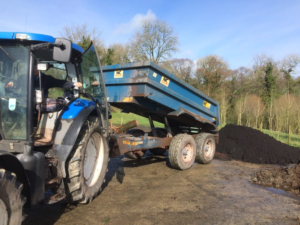 Big delivery of Merlins Magic Compost